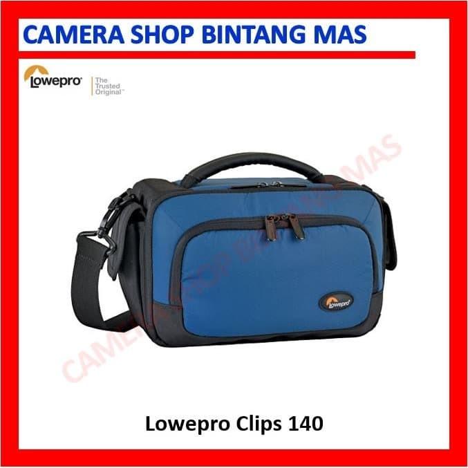 Foto Produk Lowepro Clips 140 (Blue) - Camcorder, Compact Camera dari Camera Shop Bintang Mas