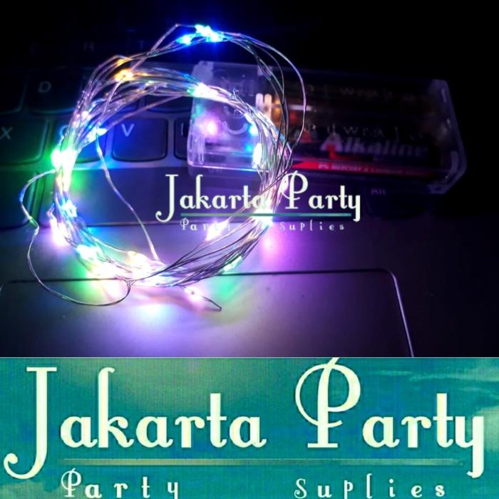 Foto Produk Lampu Tumblr Kawat / Lampu Hias LED Baterai / Lampu Hias / Lampu LED dari Jakarta Party
