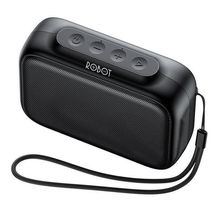 Foto Produk Robot Speaker Bluetooth RB100 Dots 5.0 Black Original Resmi dari vivan storee