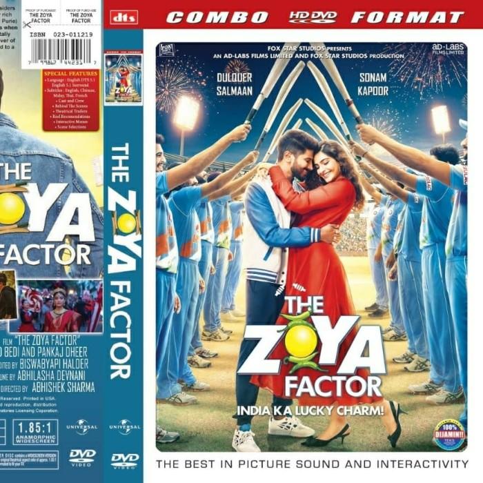 Jual The Zoya Factor Jakarta Barat Aaron Dvd Tokopedia