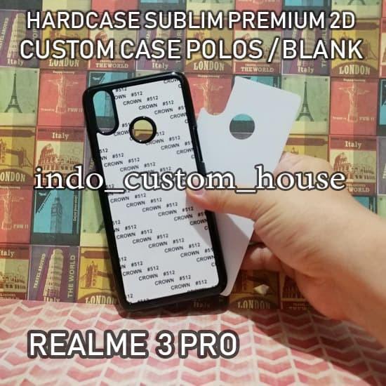 Foto Produk Casing Custom Blank/Polos Realme 3 Pro Case Sublim Hardcase 2D dari INDO CUSTOM HOUSE