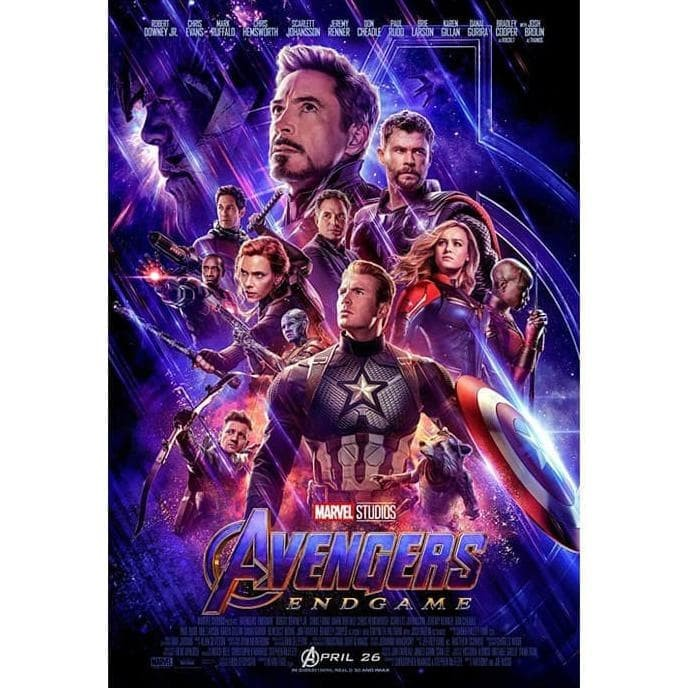 Jual Dvd Film Avengers Endgame 2019 Jakarta Barat Dara Collection17 Tokopedia