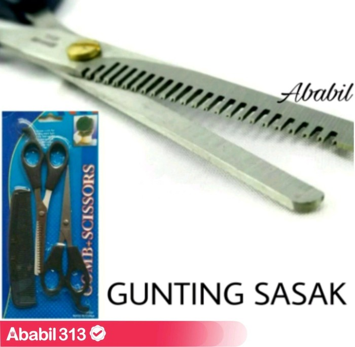 Foto Produk Gunting Sasak - Alat Cukur Potong Rambut - Paket Salon dari Muh Irsyat Muis
