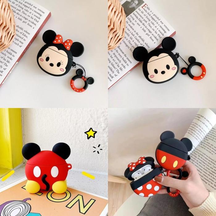 Foto Produk MICKEY MINNIE 3D Silicone Airpods Case Pouch dari VIWI
