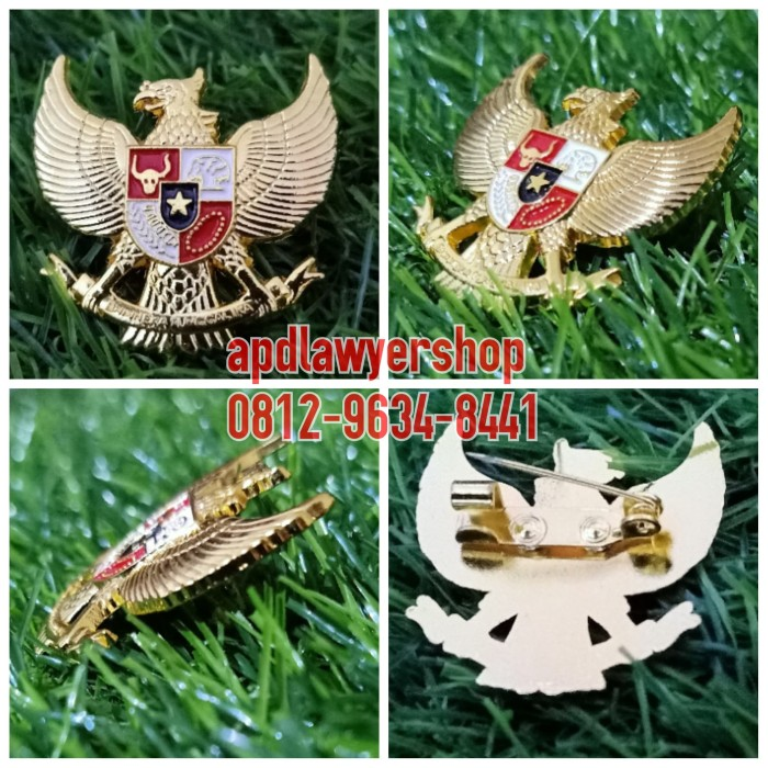 Jual Pin Garuda 3cm Pin Burung Garuda Pancasila Peniti Kuningan Asli Mewah Jakarta Utara Apdlawyershop Tokopedia