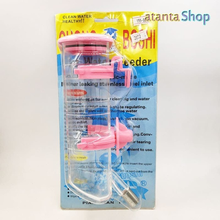 Foto Produk Chong Boshi - Drinker Bottle 500ml bottle minum hewan 2892 p892 dari atanta Shop