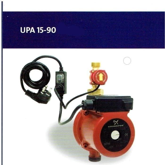 Jual Pompa dorong mini GRUNDFOS UPA 15-90 Booster Pump Air ...