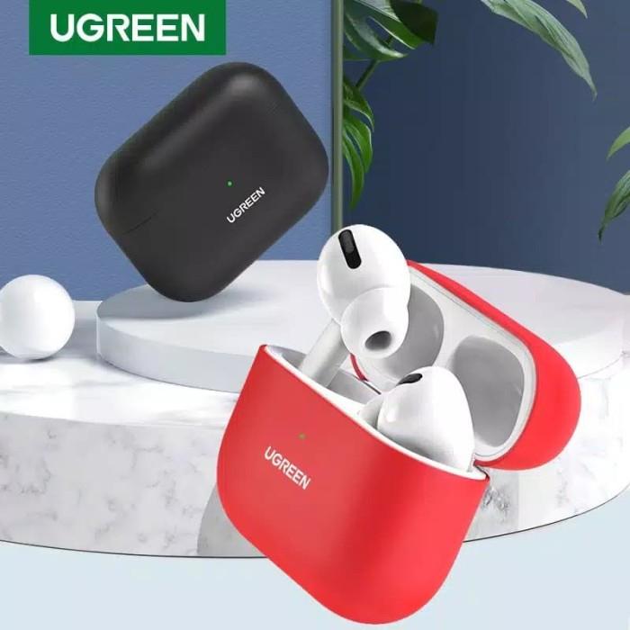 Foto Produk Ugreen AirPods Pro Earphone Case Silicone Cover RED-80512 dari Ugreen ID