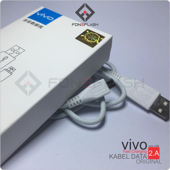 Foto Produk Kabel Data Ori 100% Vivo Y21 Y35 Y53 Y55 Y71 Y15 Y69 CABLE Micro Usb dari foneflash