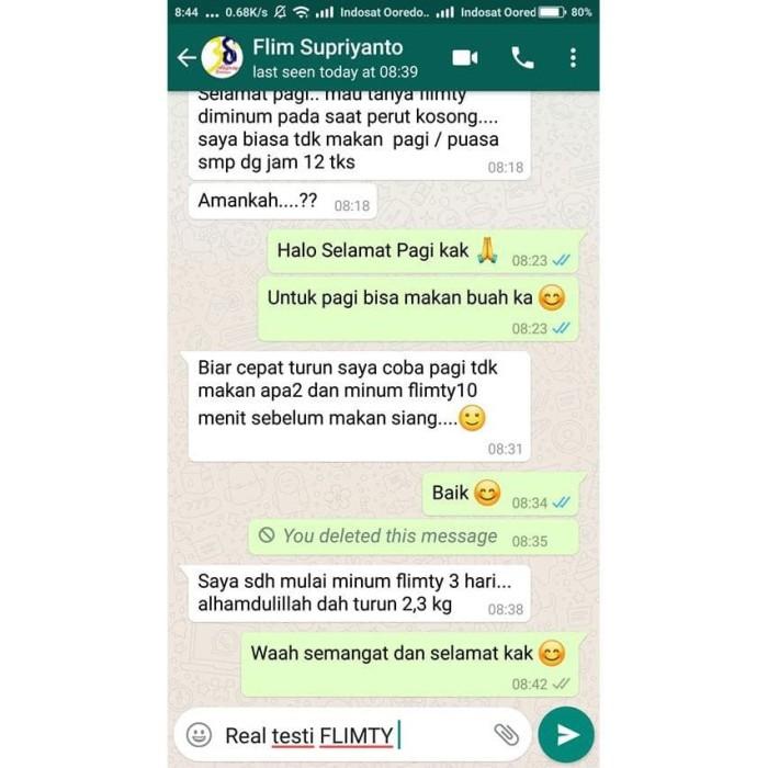 Jual Terbaik Flimty Fiber Herbal Detox Usus Bpom Pelangsing Penurun Berat Jakarta Pusat Hamidarkana Tokopedia
