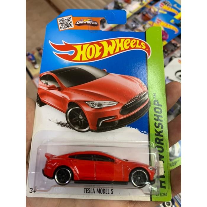 Jual Hotwheels Tesla Model S Merah Mainan Anak Promo Baru Mobil Diecast Jakarta Selatan Boss Hotwheels Tokopedia