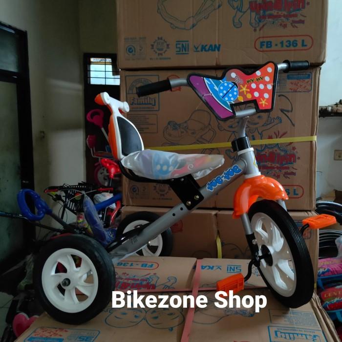 Foto Produk Sepeda Sinchan bmx anak balita Roda Tiga Yoe Yoe dari bikezone shop