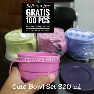Foto Produk Cute Handy Bowl Twin Tulipware dari TULIPWARE collection