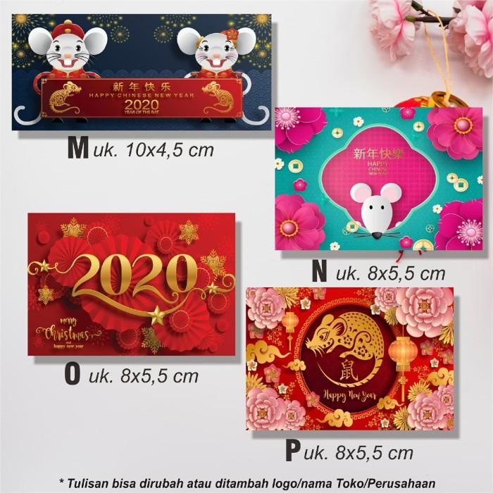 Jual Stiker Stikerucapan Label Hadiah Imlek Tahun Baru China