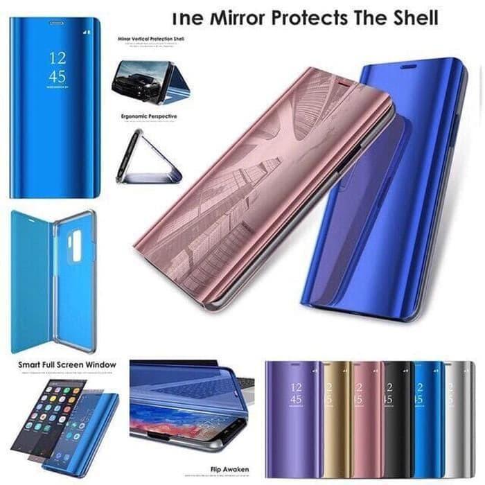 Foto Produk Flip Cover Mirror /Clear View Standing VIVO Y19 dari Vormircase