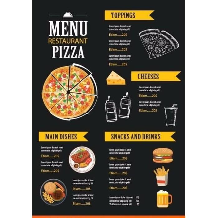 Desain Banner Menu Makanan - desain spanduk keren