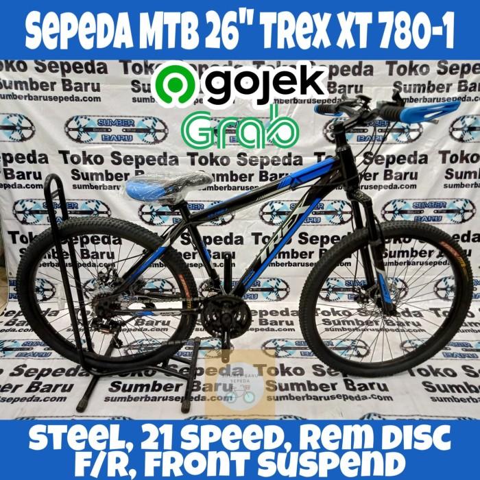 "Jual PROMO !! Sepeda Gunung (MTB) 26"" Trex XT 7801 NEW"