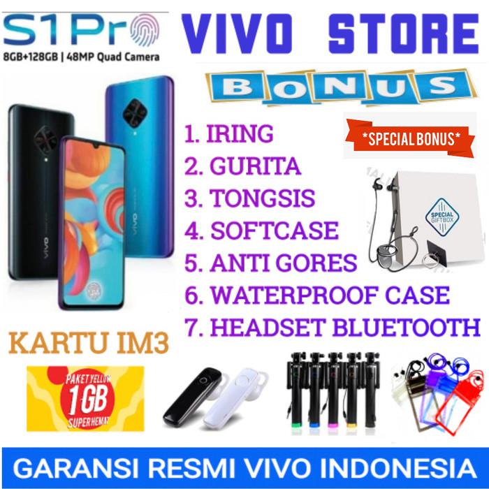 Foto Produk VIVO S1 PRO RAM 8/128 GARANSI RESMI VIVO INDONESIA - demo tanpa dus dari VIVO ST0RE