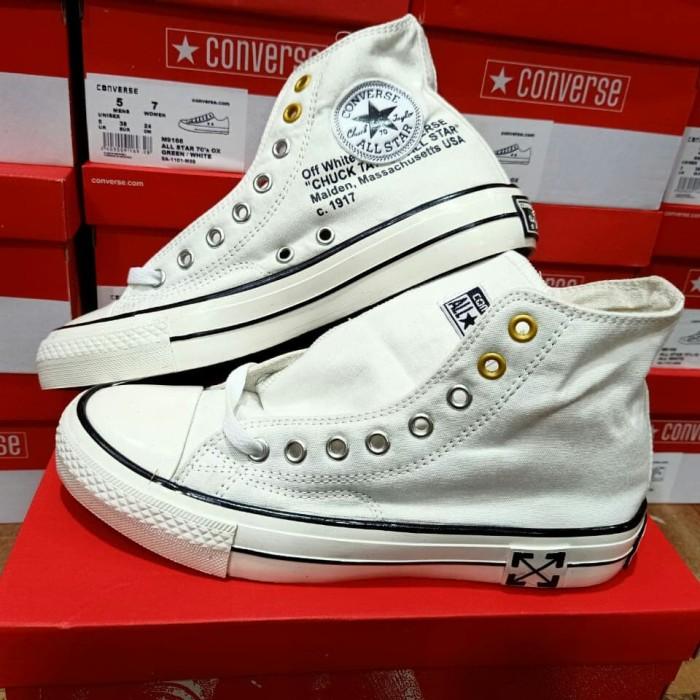 Jual sepatu converse classic - Putih