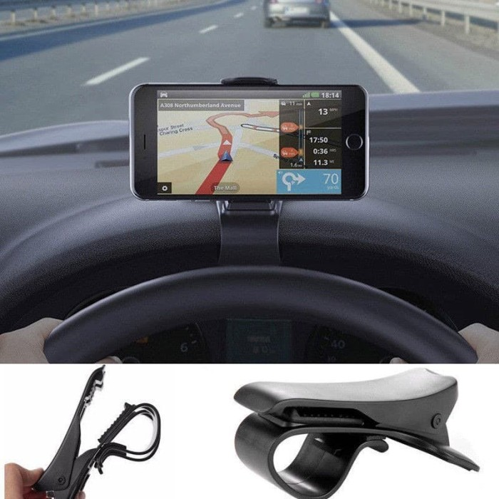 Foto Produk Car Holder Dashboard / Phone Holder Mobil Dashboard / Holder HP GPS dari Stofer Shop