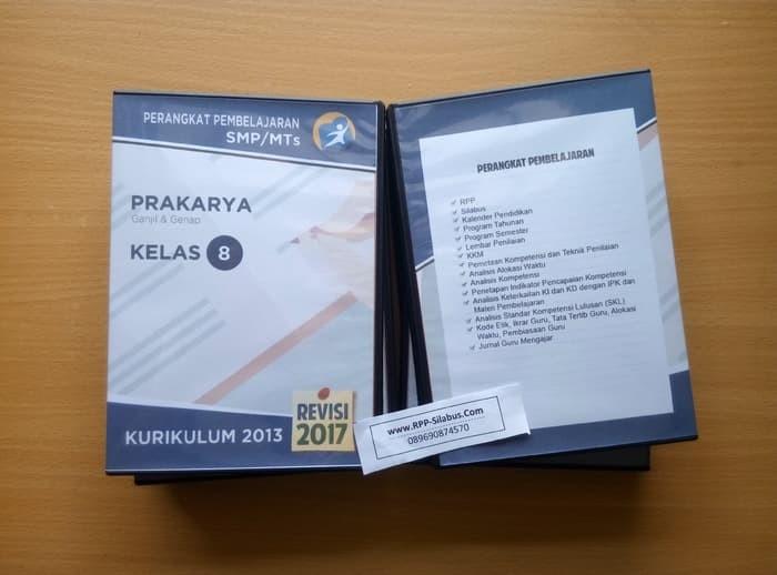 Jual Terbaru Rpp Prakarya Smp Kelas 8 Kurikulum 2013 Revisi 2017 Jakarta Pusat Natalia Wijayanti Tokopedia