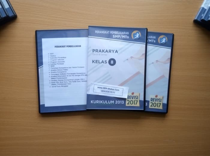Jual Buku Smp Kelas 2 Rpp Prakarya Smp Kelas 8 Kurikulum 2013 Revisi 2017 Jakarta Selatan Ghaliyati108 Tokopedia
