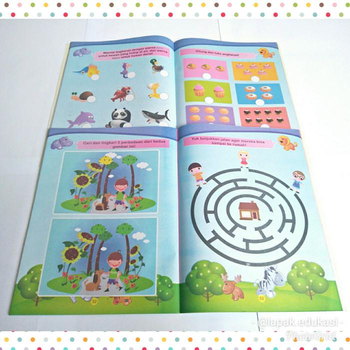 Jual Buku Keterampilan Anak Buku Pintar Tk Paud Seri Tes Iq Jakarta Timur Lamarfirmansyah Tokopedia