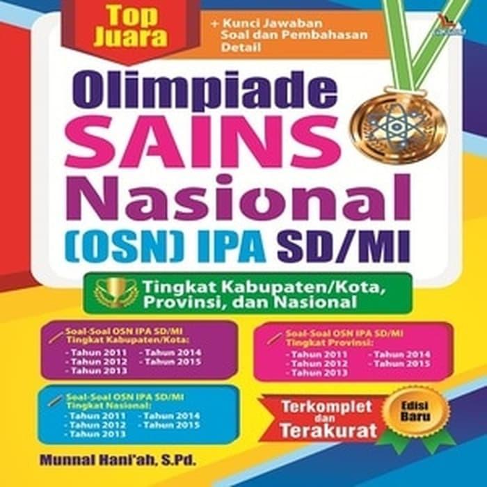 Jual Promo Kumpulan Soal Sd Top Juara Olimpiade Sains Nasional Osn Ipa Sd Jakarta Selatan Gildahartati Tokopedia