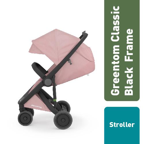 Foto Produk Greentom Classic Set : Black Frame + Seat / Stroller - Orange dari Dr.Brown's Indonesia