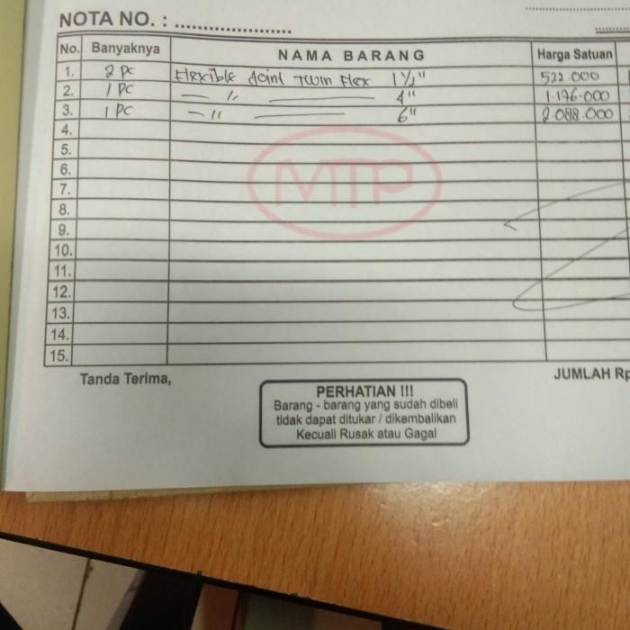 Jual Purchase Order Jakarta Barat Multi Teknik Parts Tokopedia