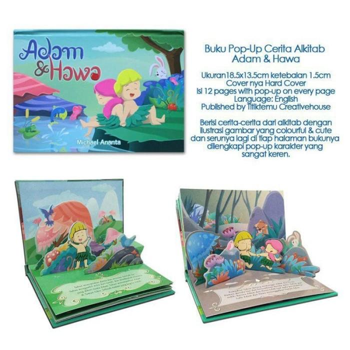 Foto Produk Buku Pop-Up Cerita Alkitab Adam & Hawa dari HappyBunnyBooks