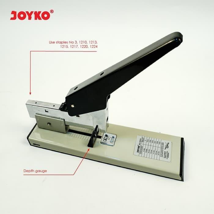 Foto Produk Joyko Heavy Duty Stapler Stepler Heavy Duty HD-12N/24 Staples Besar dari CENTRO TRADING
