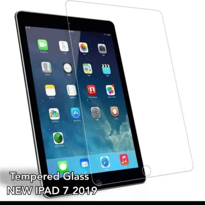 Foto Produk Tempered Glass ipad 7 10.2 2019 Screen Guard Protector Clear dari brand indonesia