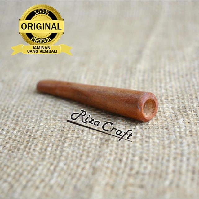 Foto Produk Pipa Cangklong Rokok Kayu Sawo Panjang Unik Antik Terbaik dari Riza Craft