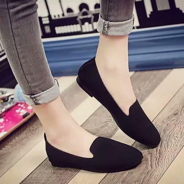 Foto Produk Reiv - Geisyah Flat Shoes ZH.018 - Hitam, 37 dari Reiv_Shop