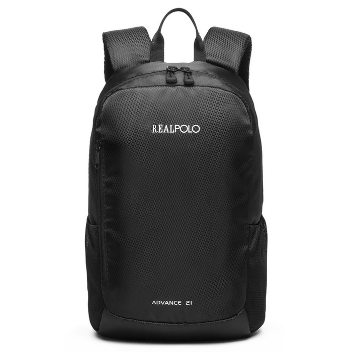 Foto Produk Real Polo BCI New Arrival Tas Ransel Kasual Backpack Up to 12 inch - Hitam dari realpolobags