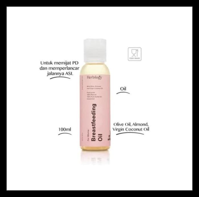 Jual Herbilogy Breastfeeding Oil 100 Ml Breast Massage Oil Pelancar Asi Kota Semarang Agusd Tokopedia