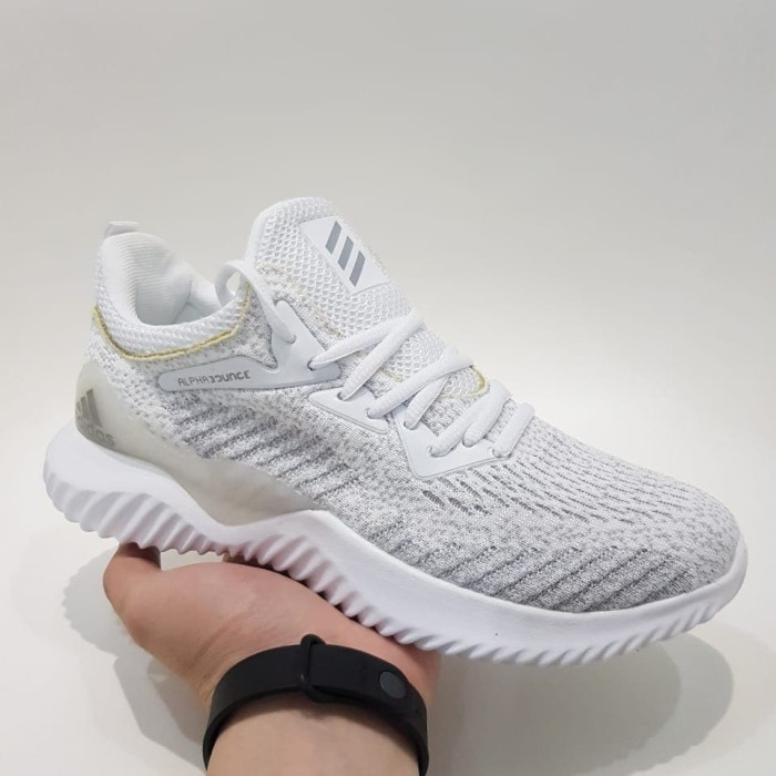 alphabounce all white