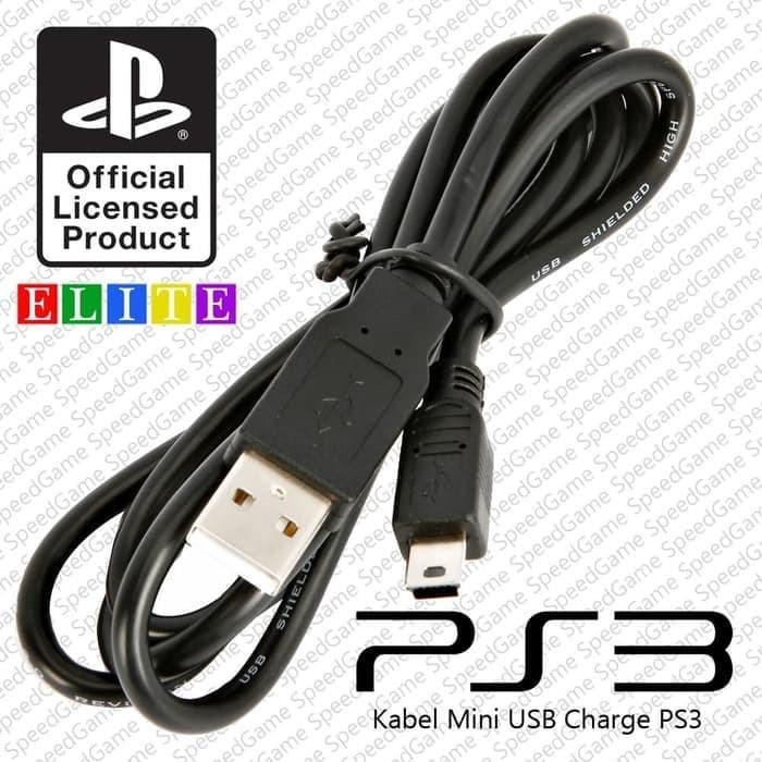 Foto Produk Kabel USB PS3 charger Stik ps3 Sony KABEL DATA KABEL CASH dari cello game