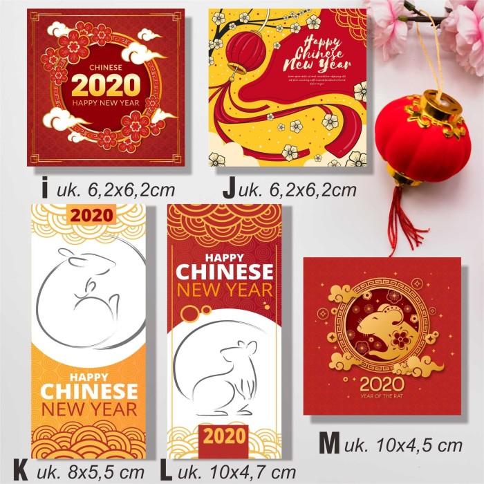 Jual Hang Tag Kartu Ucapan Label Hadiah Imlek Tahun Baru China