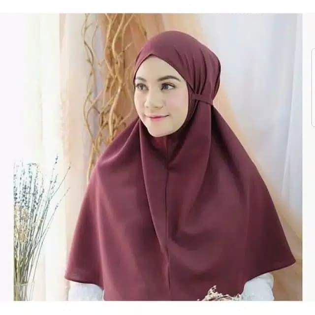 Jual Hijab Bergo Maryam Diamond Italiano Jilbab Kerudung Khimar Navy Kab Kudus Grosir Murah Kudus Tokopedia