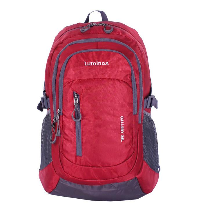 Foto Produk Luminox - Tas Ransel Laptop Kasual Backpack -14 inch GGFI+Bag Cover - Merah dari luminoxbags