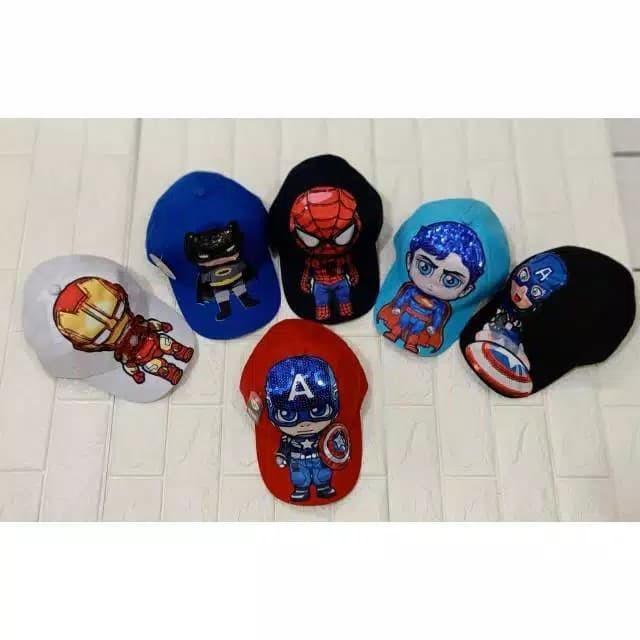 Foto Produk Topi superhero anak dengan lampu/led dari baby&kids'shop