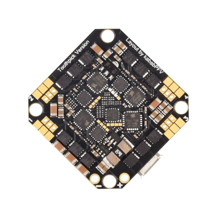 Foto Produk BetaFPV Toothpick F4 V2 20A BLHeli_S AIO Brushless Flight Controller dari DooFPV