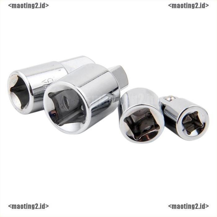 """Ball Lock Ratchet Socket Adapter Reducer Converter Tool 1//4/"""" 3//8/"""" 1//2/"""""""
