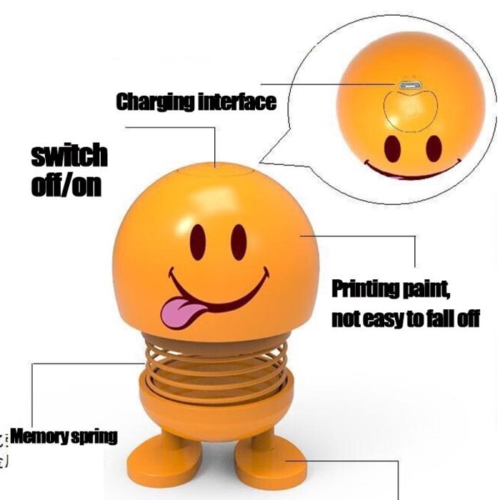 Jual Sale Emoticon Mobil Menggelengkan Kepala Boneka Speaker