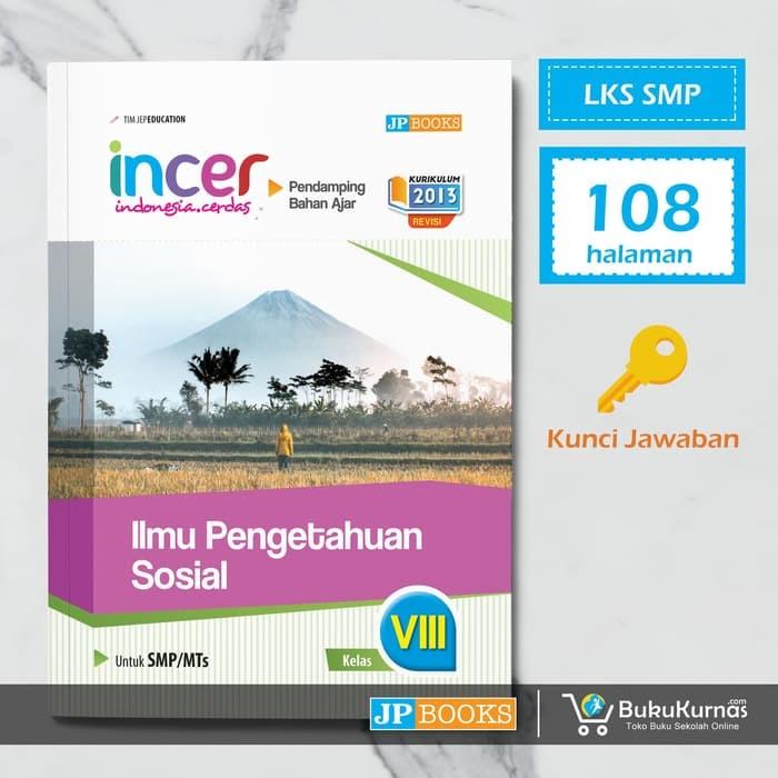 Jual Kumpulan Soal Smp Buku Pendamping Ips Smp Kelas 8 Lks Incer Jakarta Utara Labuhkusumo Tokopedia