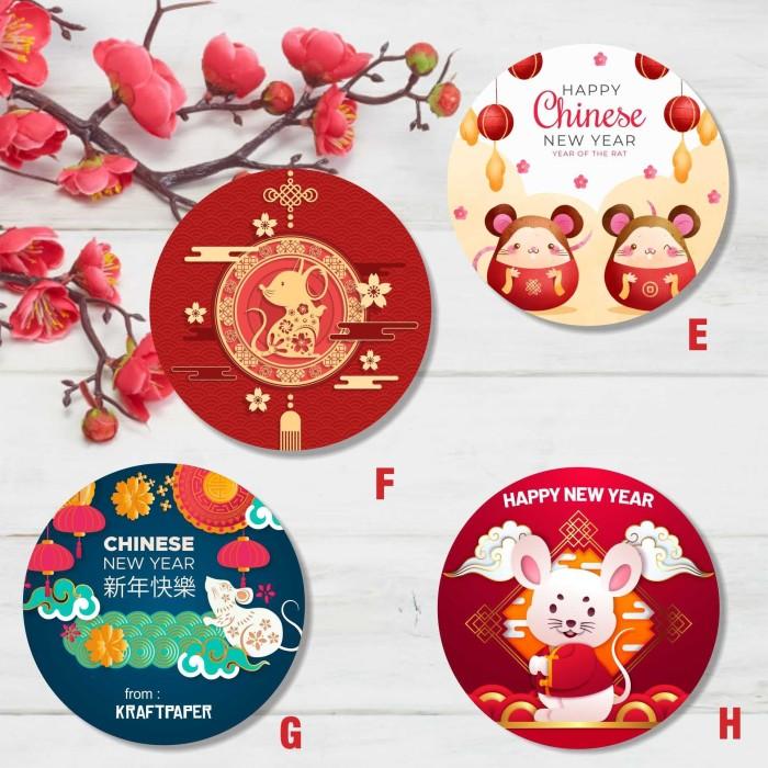Jual Hang Tag Kartu Ucapan Label Untuk Hadiah Imlek Chinese New