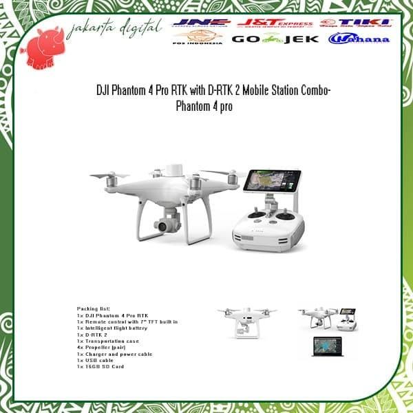 Jual DJI Phantom 4 Pro RTK with D-RTK 2 Mobile Station ...