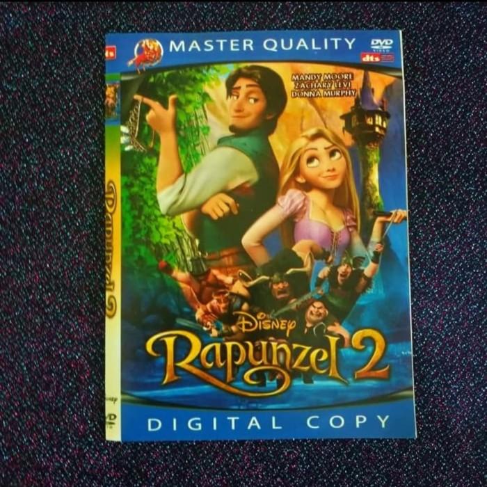 Jual Kaset Dvd Film Anak Anak Disnep Rapunzel Jakarta Barat Multistore Com Tokopedia